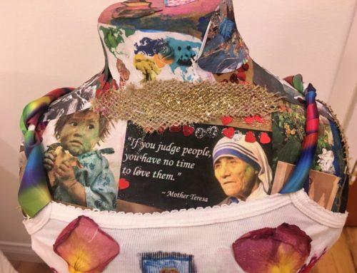 Mother Teresa in a Tutu