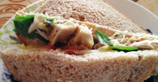 Chicken Chutney Sandwich